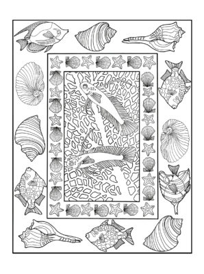 Example page from Beauty In The Sea